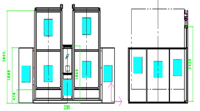 升降机基础施工图