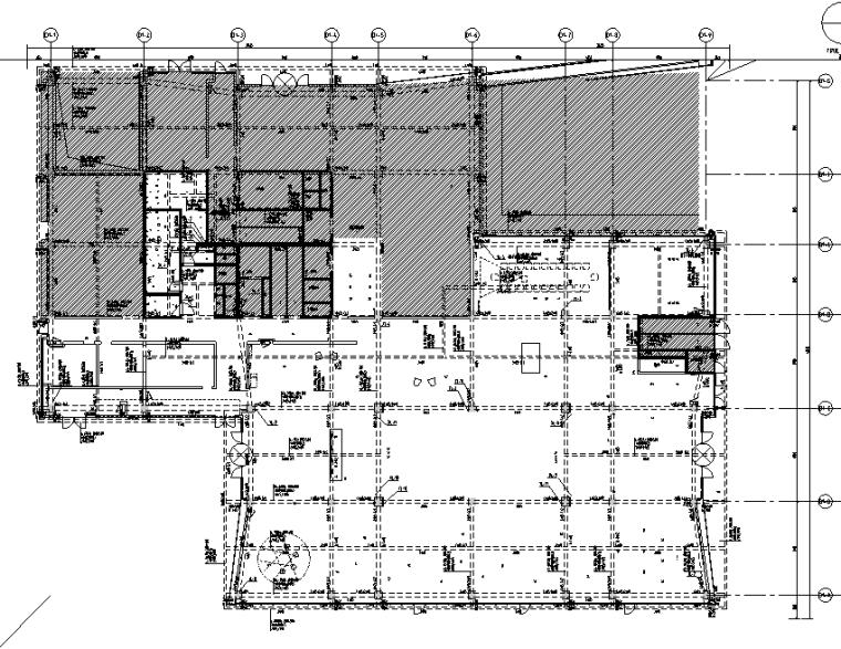 [上海]知名地产御河硅谷售楼空间设计施工图(附效果图+软装方案)-建筑资料图