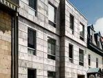 艺术混凝土光影成像技术——加拿大学生公寓