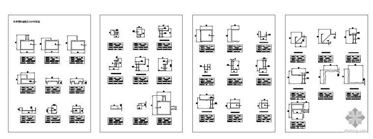 [图集]玻璃幕墙节点详图图集_1