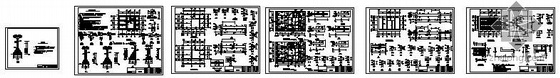 某乡村两层民用住宅结构图