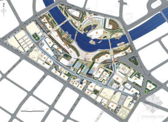 [天津]广场及道路地区规划设计方案