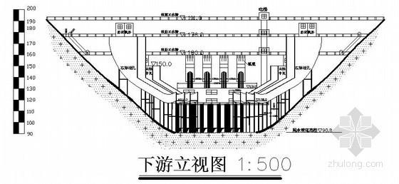 [毕业设计]变中心角混凝土拱坝设计(河海大学)