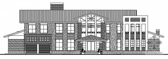 某两层独立别墅方案设计图
