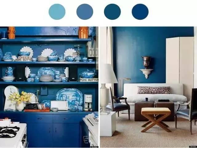 轻硬装重软装,如何用色彩打造不同风格的家!
