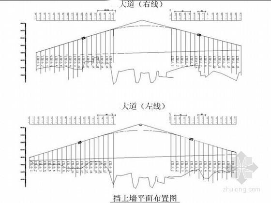 [湖南]跨线桥高路基钢筋混凝土挡土墙支护结构施工方案