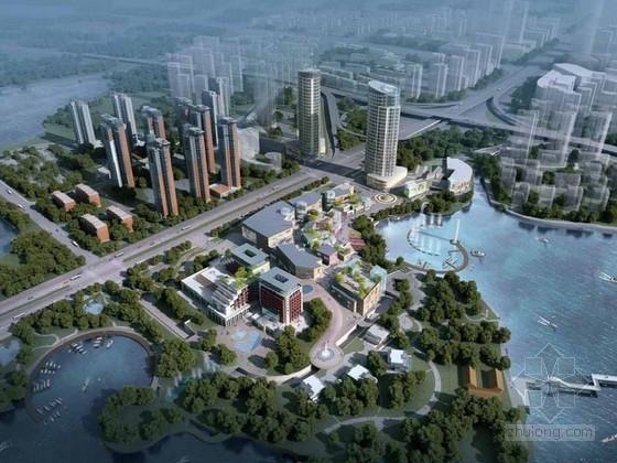 [武汉]城市综合体规划及单体设计方案文本(知名设计)