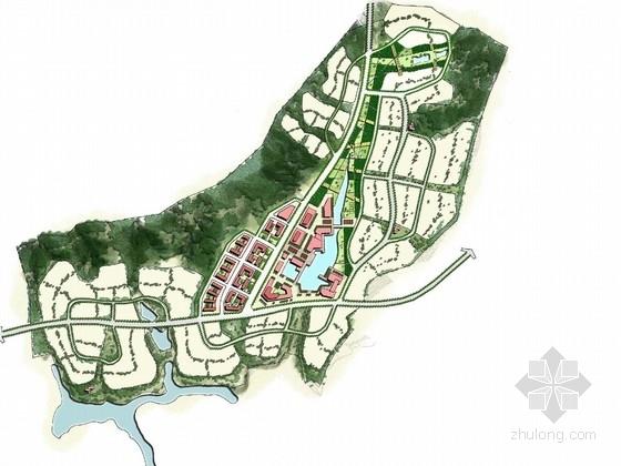[云南]现代田园生活居住区总体规划设计方案(方案2套)
