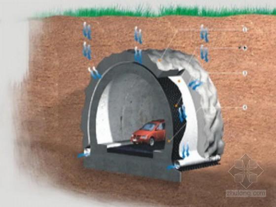 隧道进口端新奥法施工技术总结34页(光面爆破 锚喷支护)