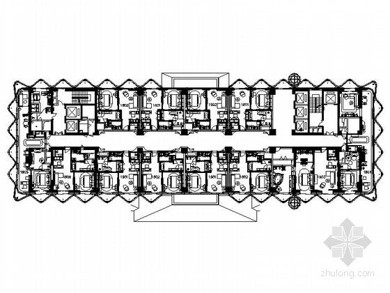 [三亚]巨星加盟投资百亿超大型世界级七星酒店设计施工图(含方案)