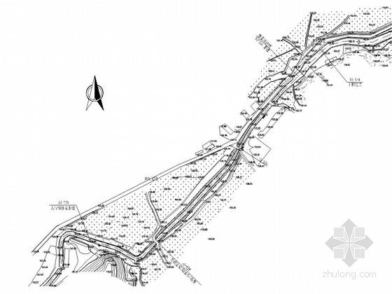 [江西]灌区输水渠道节水改造工程施工图(干渠)