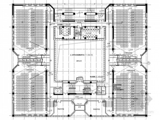 [天津]知名大学新校区主楼电气设计图纸862张