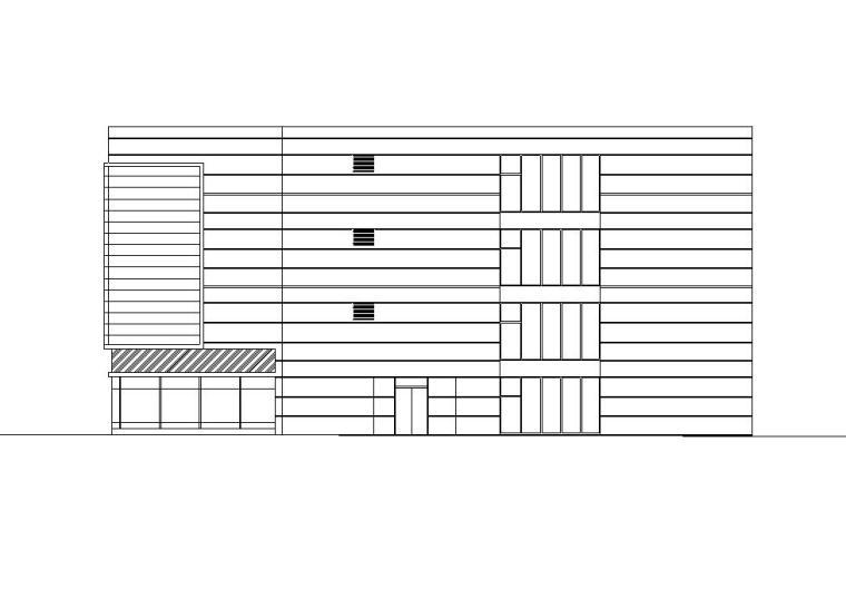 [江西]南昌凤凰城二期商业街建筑施工图设计(同济)