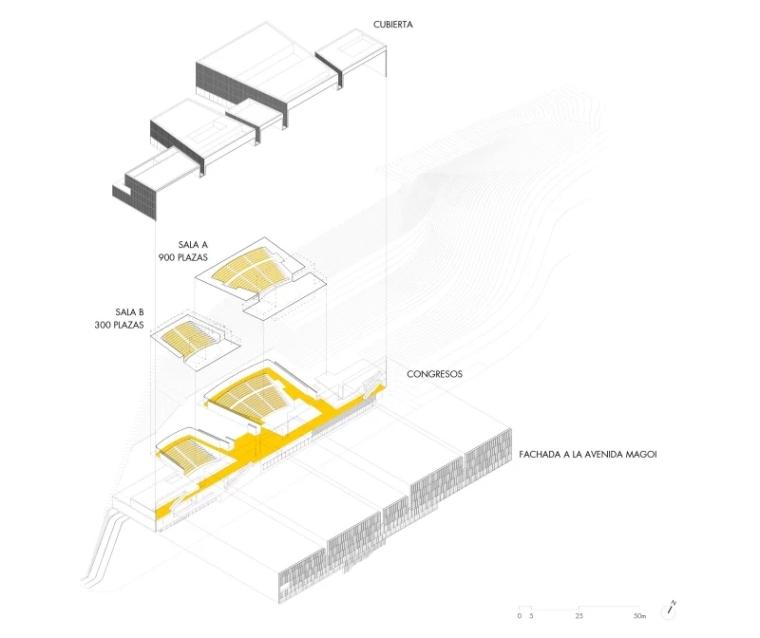 多面综合型礼堂建筑,简单外表下的复杂功能_8
