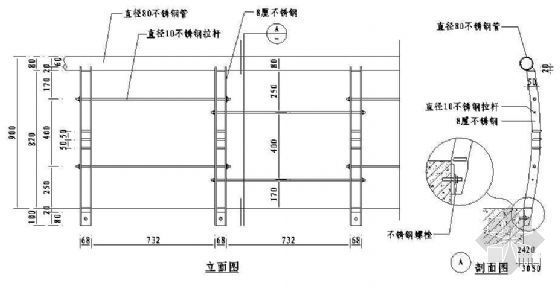 欧式栏杆详图42