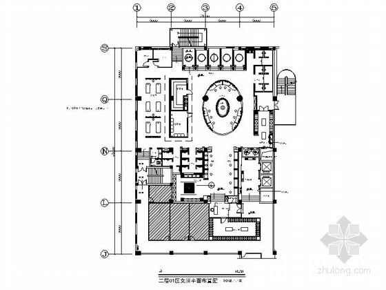 酒店豪华女浴区室内装修图