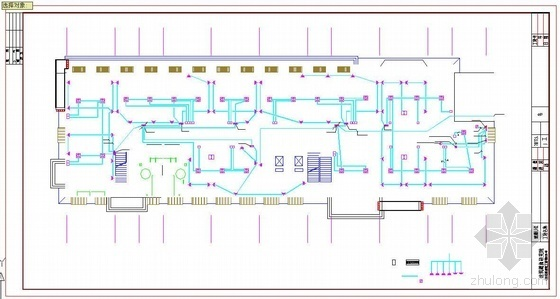 河北某医院门诊楼消防报警工程预算实例(含配图)