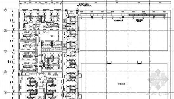某游泳馆空调系统设计图