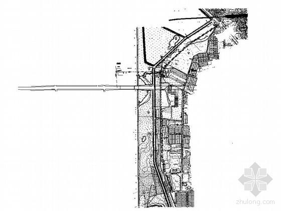 吉林省长春市某市政污水管道平面图