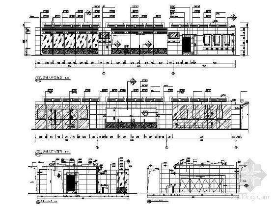 银行营业厅立面设计图