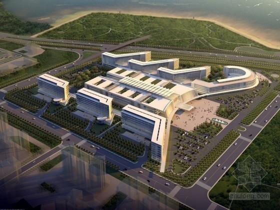 [深圳]某医院规划及建筑单体设计方案文本(含CAD)
