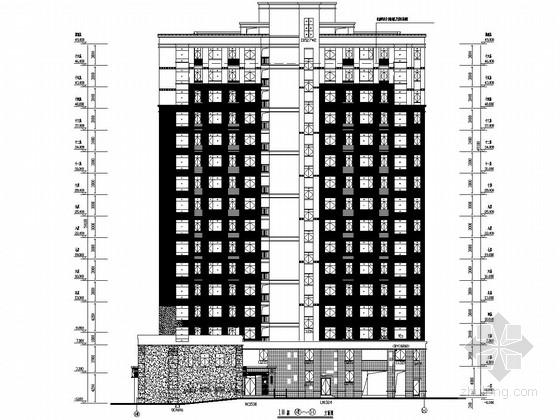 16层铝合金门窗及格栅工程专项施工图(含详细计算书)