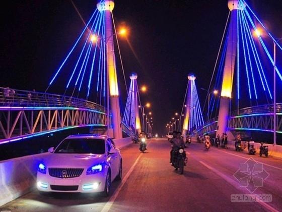 市政道路跨河大桥装饰工程施工图