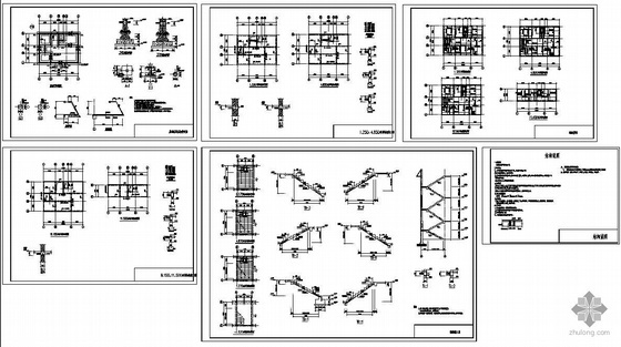 某农村砖混住宅结构图