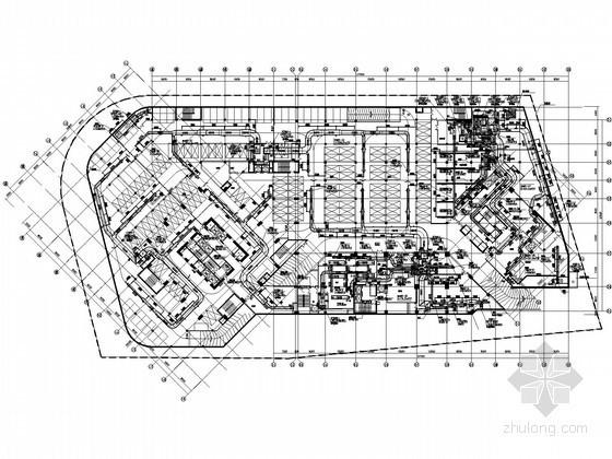 [南昌]超高层酒店办公大厦暖通全套施工图105张(50层212米水蓄冷)