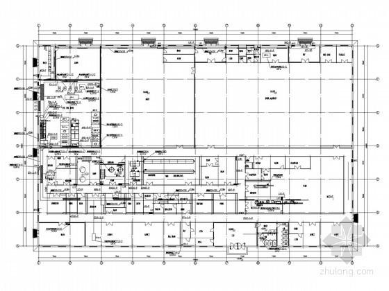 [河北]软胶囊车间全套电气施工图纸