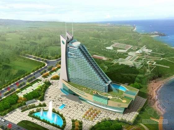 [山东]某国际酒店建筑设计方案文本