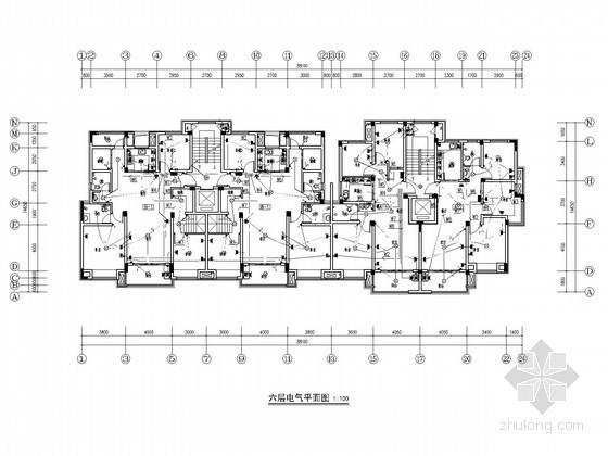 [安徽]知名大型文化广场电气施工图(2015年设计 甲级设计院)