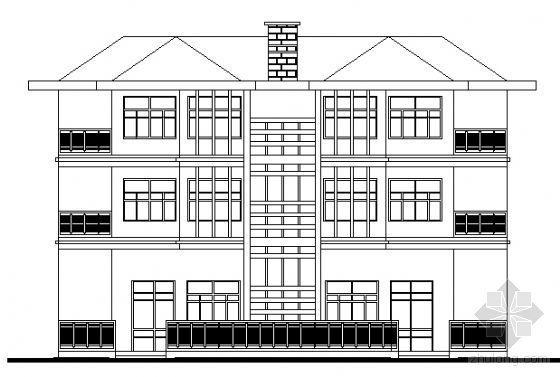 南京爱涛-漪水园G型别墅建筑施工图