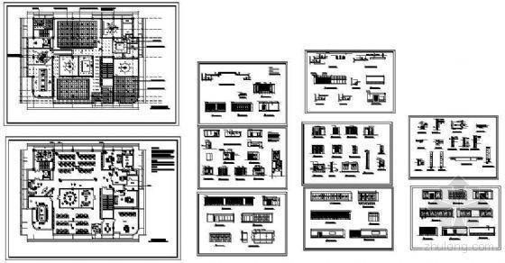 电信办公楼装饰设计图-4