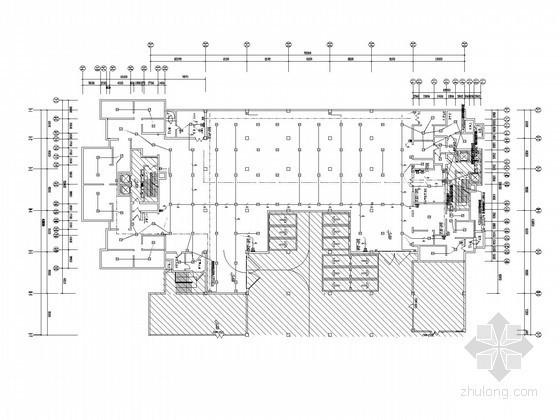 [辽宁]大型住宅小区地下室强、弱电系统电气施工图纸