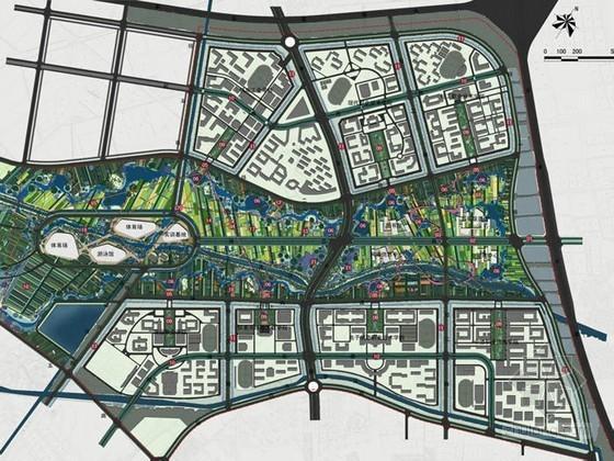 [天津]城市综合区域景观规划方案设计