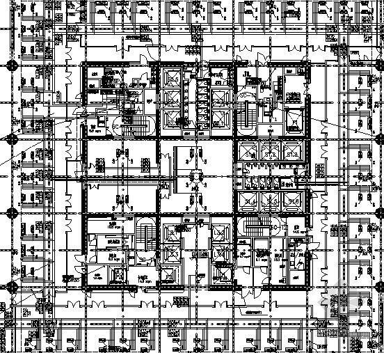 [河南]超高层商业综合体采暖通风及防排烟系统设计施工图(知名甲级设计院)
