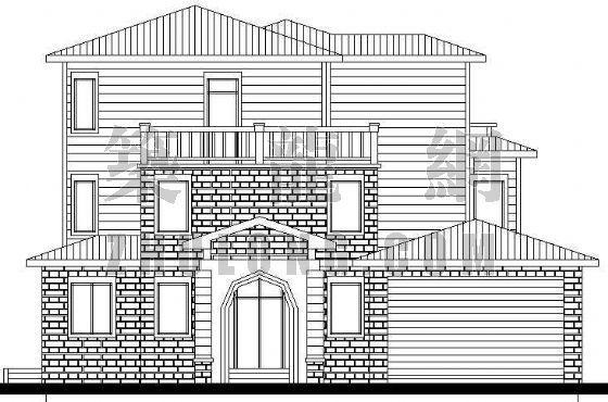某精致别墅设计方案(2)