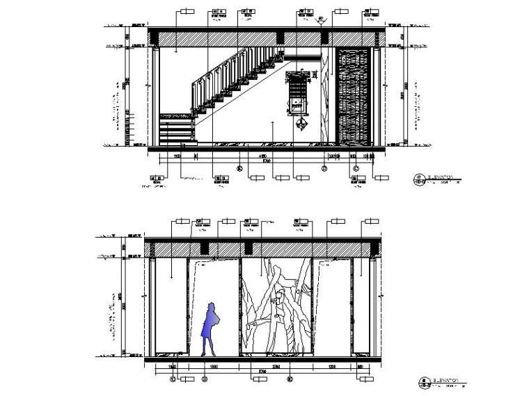 [海口]复古奢华低层别墅样板间室内设计施工图(含软装方案)_8