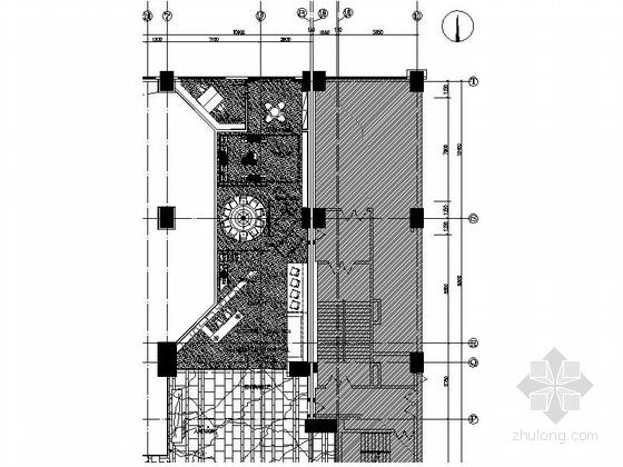 [深圳]全球连锁五星级酒店奢华宴会展厅装修施工图