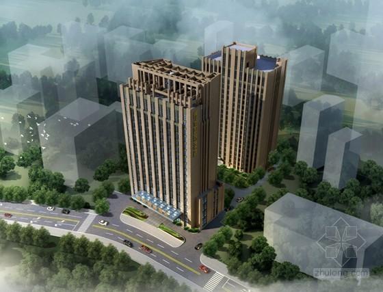 [重庆]框架结构住宅外立面幕墙装饰工程施工组织设计