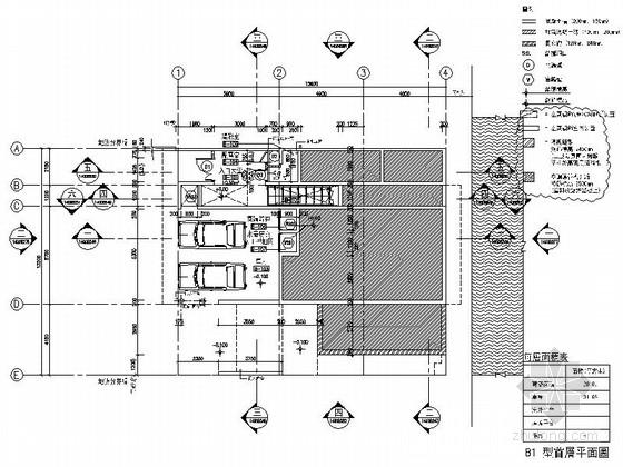 [海南]高档度假酒店式别墅室内装修施工图(含实景图)