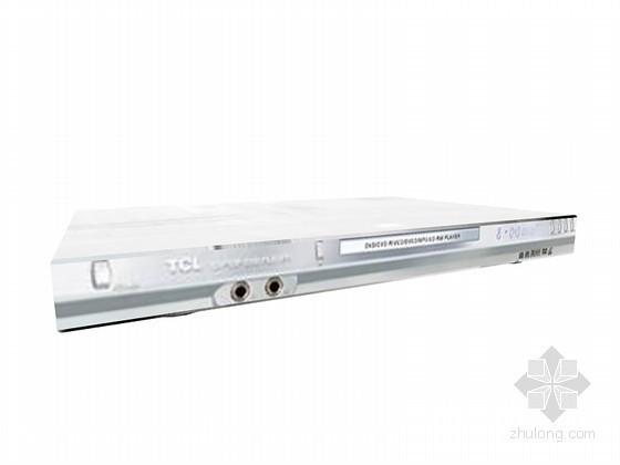 VCD播放器3D模型资料下载-TCL播放器3D模型下载