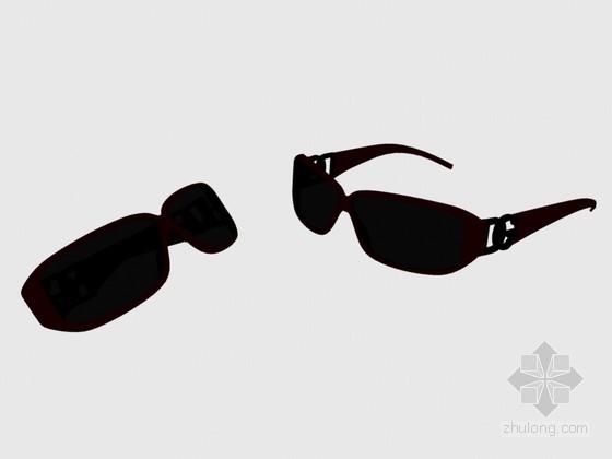 时尚眼镜3D模型下载