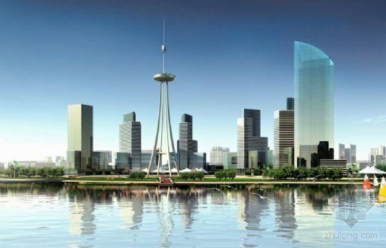 [泉州]某滨江中央商务区概念性规划设计文本