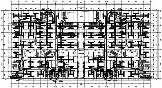 [沈阳]产品配送中心暖通空调设计施工图