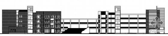 [免费资料][江苏]某学校建筑群规划方案设计图