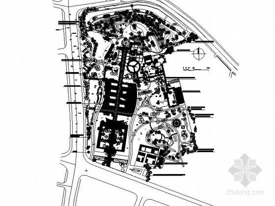[江阴]某公园景观规划总平面设计