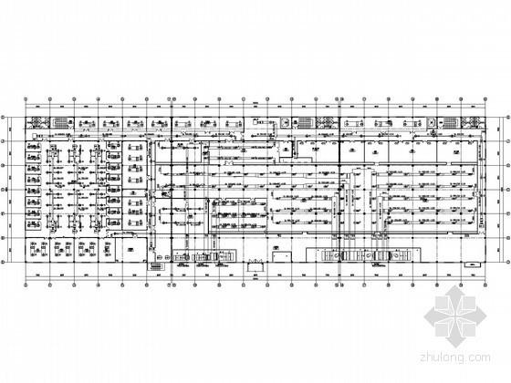 [安徽]净化车间暖通设计施工图纸(知名院)