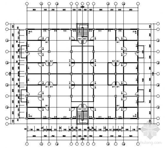 某五层住宅楼建筑结构方案图(毕业设计)-3